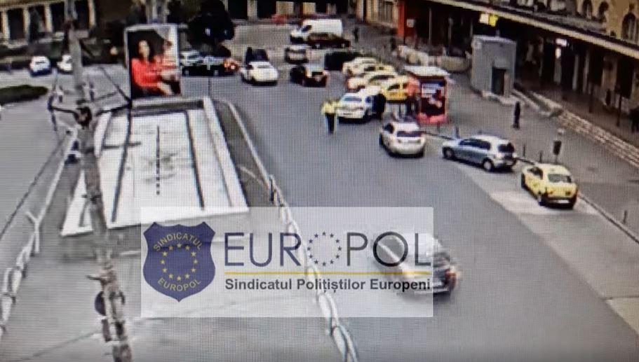 Soferul care a lovit un politist in trafic a fost lasat liber