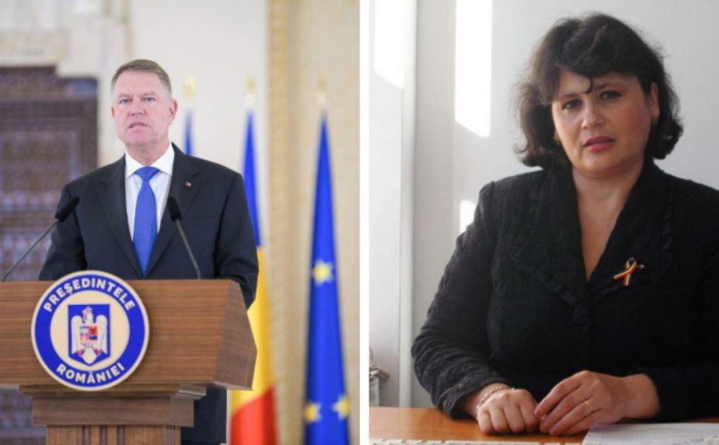 Klaus Iohannis, pus la punct de judecătoarea Baltag