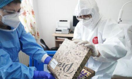 Vaccin distribuit in cutii de pizza, la spitalul din Slobozia